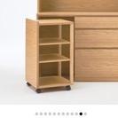 無印良品オーク材カップボード展示品 食器棚 - 家具