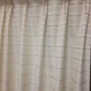 値下げ!遮光カーテンとレースのセット 2枚組