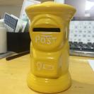 幸せの黄色いポスト貯金箱