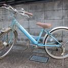 【無料】女児22インチ自転車 LE...