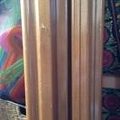 【値下げ】木製ベビーベッド ※キズあり