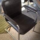 会議椅子  ミーティングチェア  パイプ椅子  肘付き
