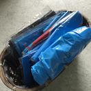 ◾︎45リットル青ゴミ袋セット◾︎