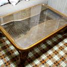 (取引終了)籐のローテーブル