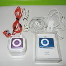 値下げ Apple iPod shuffle 2台 (未使用+動...