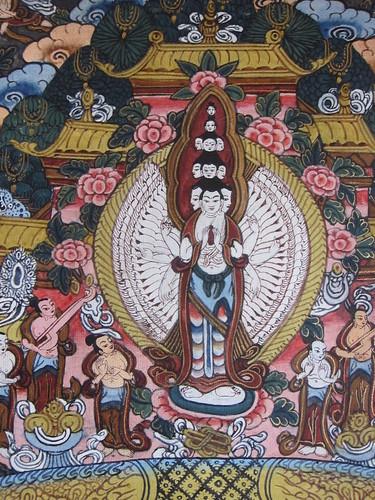 成立」ネパールのタンカ(仏画)...