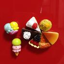 食玩風ケーキ・アイスのマグネット
