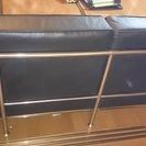 (お取引終了)ル・コルビジェ LC2 3P ソファ 本革 ■ブラック - 家具