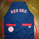 23) US 発 RED SOX 子供エプロン 貴重 入手難