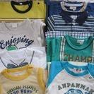 【お取引終了】男の子 夏Tシャツ 80-90.100センチ 8枚セット
