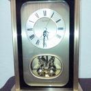 ★高級品です。動作良好SEIKO製の置時計。居間などに!