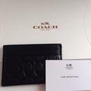 お値下げ。新品 Coach コーチ マルチカードケース