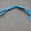 100円 パソコン ランコード1 青3m