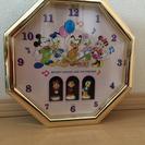 ディズニー掛け時計