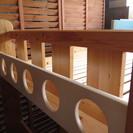 【交渉成立!ありがとうございました】カントリー風 木製システムベッド 子供部屋やお部屋の省スペースに! - 藤沢市