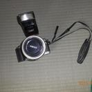 キャノン一眼レフカメラ フイルム 別売りのフラッシュもついています