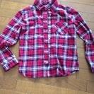 チャオパニックのチェックシャツ¥1000