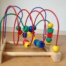IKEAの木のおもちゃ