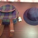 幼稚園 リュック&帽子