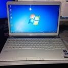 NEC LaVie LS150/F ノートパソコン 中古 値下げ