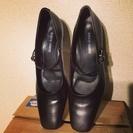 【他サイドより取引済☆日本製〜☆23cm就活/就職定番本革靴☆送料込!〜☆ピカピカ新品〜‼︎】 - 靴/バッグ