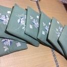10枚セット カバー付き 高級綿手作り座布団 安く譲ります。