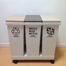 三連ゴミ箱