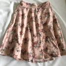 新品*花柄スカート