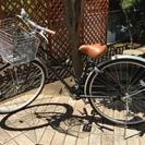 【あげます】シティサイクル/自転車(27インチ・黒)の画像