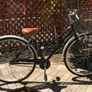 【あげます】シティサイクル/自転車(27インチ・黒) - 大田区