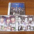 【受渡完了】 キスマイ CD3枚セットで