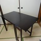 【値下げ】落ち着いた感じの テーブル(伸縮可能)