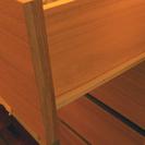 無印のオーク材チェスト - 家具