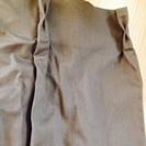 ニトリ 綿100 ブラウンカーテン