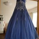 【お譲りします】カラードレス(紺)7~9号サイズ