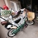 子供用14インチpeople自転車 - 松戸市