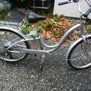 シマノ製電動自転車です。