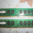 Buffalo D2/667-S1G/E デスクトップ用メモリ ...