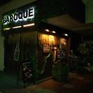 2015年8月オープン、お料理とお酒のお店「Baroque」です!