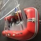 ジョイクラフト エンジン付き2馬力~ ゴムボート 中古品
