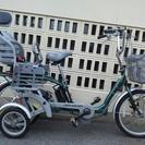 補助輪付き電動アシスト自転車かるがもグランド(子供乗せ付き)