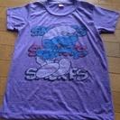 [未使用]スマーフTシャツ¥400