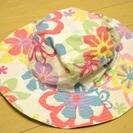 カラフルな花柄帽子(女の子用)