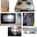 中古家電17点セット 冷蔵庫 洗濯機 電子レンジ ガスコンロ テ...