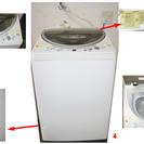 中古家電17点セット 冷蔵庫 洗濯機 電子レンジ ガスコンロ テレビ エアコン 等 - 板橋区