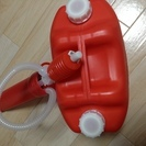灯油ポリタンク(10ℓ)+約3~5ℓ灯油+手動式給油ポンプ
