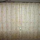 【値下げしました!】オーダーメイドカーテン◇135×160◇暖色系