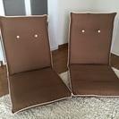 座椅子 茶色 美品