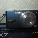 美品 Panasonic LUMIX DMC-FX7-A