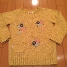 新品未使用【ブランシェス】セーター 120cm